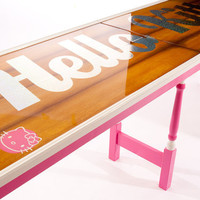 Hello Kitty Beer Pong Table