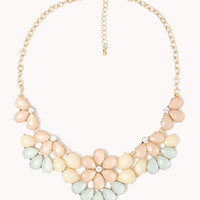 Faux Stone Bib Necklace | FOREVER 21 - 1050559821