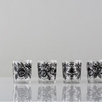 Ania Tumblers in Black - Gretel