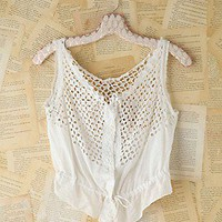Free People  Vintage Victorian Eyelet Top at Free People Clothing Boutique