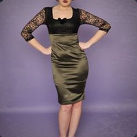 Retro To Go: Je T'Adore dress from Deadly Dames