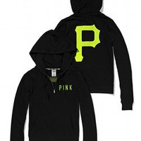 Pittsburgh Pirates Bling Perfect Full Zip Hoodie - PINK - Victoria's Secret