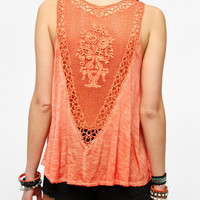 Staring At Stars V-Back Crochet Tank Top