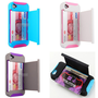 Kickstand with Card Stand Case For Iphone 4/4s/5