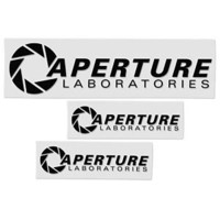 Aperture Science Vinyl Decals