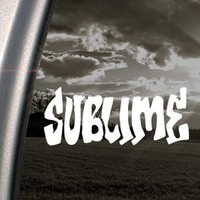 Amazon.com: Sublime Decal Rock Band Car Truck Window Sticker: Arts, Crafts & Sewing