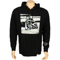 Diamond Supply Co Brilliant Glass Hoody (black) Apparel FA2BGHBLK | PickYourShoes.com