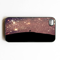 Iphone Case Love Under the Stars Starry Sky by SSCphotographycases