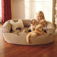 Dog Orthopedic Comfy Couch | Pet Products | SkyMall