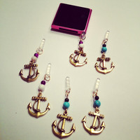 Anchors Away Dust Plug by TwiggyAccessories on Etsy