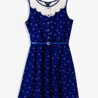 Floral & Lace Sleeveless Dress | FOREVER21 girls - 2028127034
