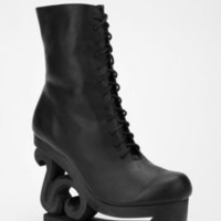 UrbanOutfitters.com > Jeffrey Campbell Skate Leather Boot Black
