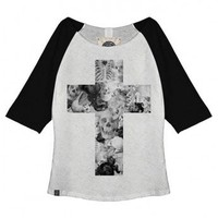 Skull Cross Raglan Top by Youreyeslie.com Online store&gt; Shop the collection