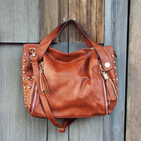 Tucker Studded Tote, Women&#x27;s Rugged Bags, Totes, &amp; Backpacks