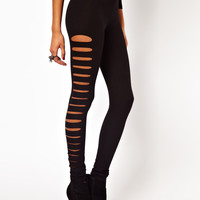 ASOS Leggings with Slash Detail