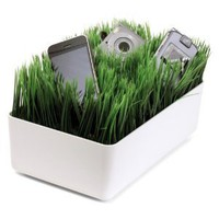 Kikkerland OR08-W Grass Charging Station, White