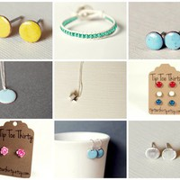 Handmade Jewelry from Tip Toe Thirty