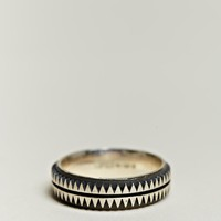 Copula Men&#x27;s Exclusive Sterling Silver Aztec Ring