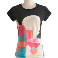 It's Geometric! Tee | Mod Retro Vintage T-Shirts | ModCloth.com