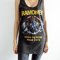 Ramones Road To Ruin Tour 70&#x27;s Punk Rock by SoYouThinkYouCanRock