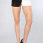 The Split Leg Short in Black and White : Tripp NYC