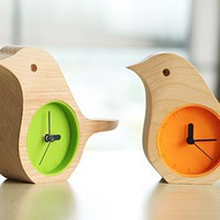 INFMETRY:: Bird Clock - Clock - Home&amp;Decor