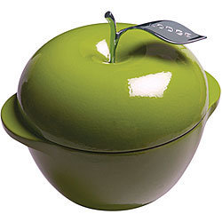 Lodge Green Apple Enamel 3-quart Cast Iron Cookware | Overstock.com