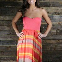 Meet Me at Sunset Dress