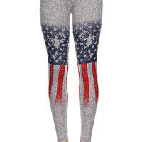 SALUTE ME LEGGING — Feetomatic By AutoSquad Girlz