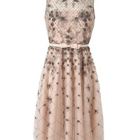 Browns fashion & designer clothes & clothing | VALENTINO | Embellished Mesh and Organza Dress