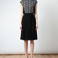 Browns fashion & designer clothes & clothing | PIECE D'ANARCHIVE | Pleated Stretch Knit Dress