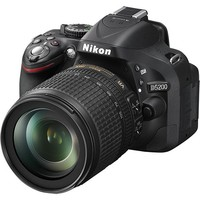 Nikon - D5200 24.1-Megapixel DSLR Camera with 18-105mm ED VR Lens - Black