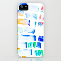 Stripe iPhone Case by Amy Sia | Society6