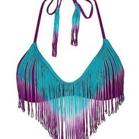 Bikini Lab Fringe Ferdinand Swimwear Top - Women&#x27;s Swimwear | Buckle