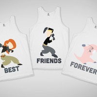 Impossibly Cute Best Friends Forever Tanks