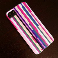 iPhone 5 Case - Feeling Stripey - Graph Drawing - stripes, hipster iphone case, striped iphone case, iphone 5 case