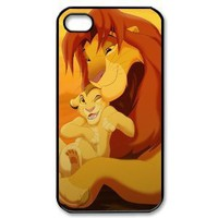 Custombox The Lion King iphone 4/4s Case Plastic Hard Phone case-iPhone 4-DF00425