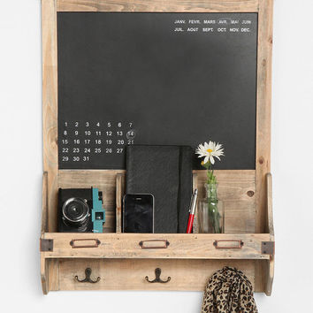 Reclaimed Wood Chalkboard- Brown One