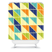 DENY Designs Home Accessories | Irena Orlov Triangles 1 Shower Curtain