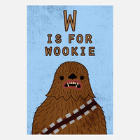 Mikey Alcantara: W is for Wookie, at 29% off!