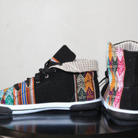 The Inca Shoe NEGRA MACHA by qttess on Etsy