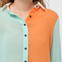 Color Light Blouse :: tobi