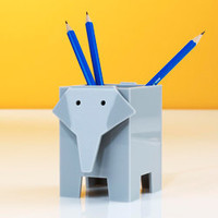 Elephant Pencil Cup - See Jane Work