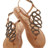 Twists and Terns Sandal | Mod Retro Vintage Sandals | ModCloth.com  #sandal #modcloth