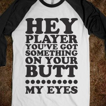 Hey Player (Baseball Shirt) - Sports Fun