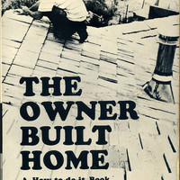 The Owner-Built Home by Ken Kern