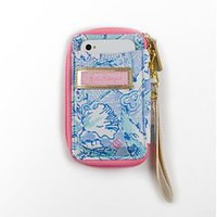 Lilly Pulitzer - Carded ID Wristlet- Kappa Kappa Gamma