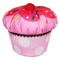 Harmony Kids Cupcake Bean Bag - Bean Bag Chairs at Hayneedle