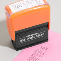 WTF Self-Inking Stamp | What The F? Stamp