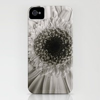 B&W Daisy iPhone Case by Kayla Gordon | Society6